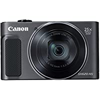 Canon 1072C001 20.2-Megapixel PowerShot SX620 Digital Camera (Black)