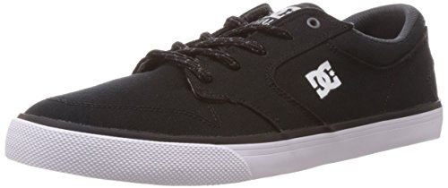 Dc Shoes Era - DC Men's Nyjah Vulc TX Nyjah Huston Signature Skate Shoe, Black/White, 11.5 M US