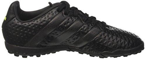 adidas Ace 16.4 Tf, Botas de Fútbol para Niños Negro (Core Black /     Core Black /     Solar Yellow)