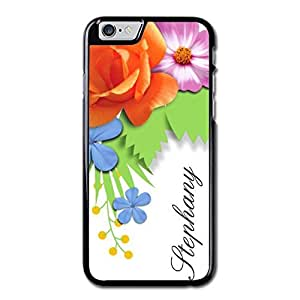 URDesigner Case for iPhone 6, 4.7 inch, Laser Technology,Flowers Custom Name Iphone 6 Wood Case Maple Iphone 6 Bumper