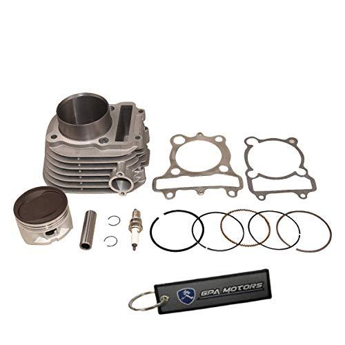 (Cylinder Piston Gasket Kit Fits Yamaha Moto 4 YFM225 1986-1988)