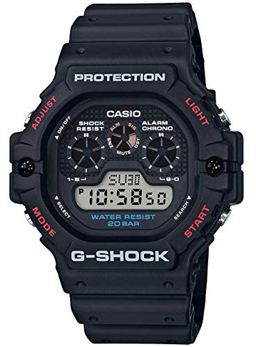 Casio G-Shock Water Resistant Digital Black Dial Men s Watch DW5900