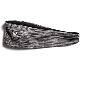 Mission Enduracool Lockdown Cooling Headband, Charcoal Space Dye