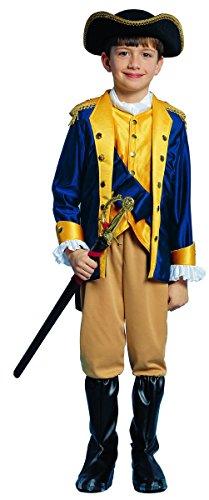 Patriot Boy Child Halloween Costume Size 8-10 Medium -