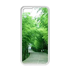 Personalized Creative Cell Phone Case For iPhone 6 plus (5.5),glam fresh green bamboo forest