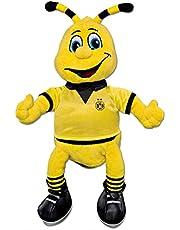 Borussia Dortmund, BVB-EMMA pluche figuur medium, 02 geel, 30 cm