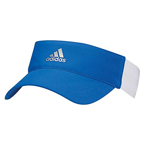 adidas Women's BC5820 3-Stripes Visor, Blue/White