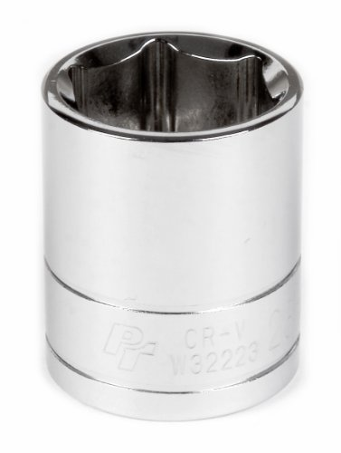 """Performance Tool W32223 1/2"""" Dr 23mm 6Point Socket, 1 Pack"""