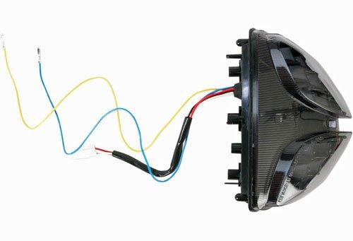 MOTO MPH(モトエムピーエイチ)08-13 GSXR600用 INTEGRATEDテールライト SHADOW B078W1NGBQ