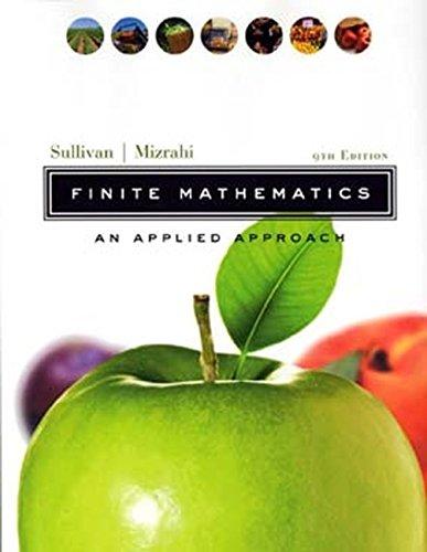 finite mathematics 10th edition pdf
