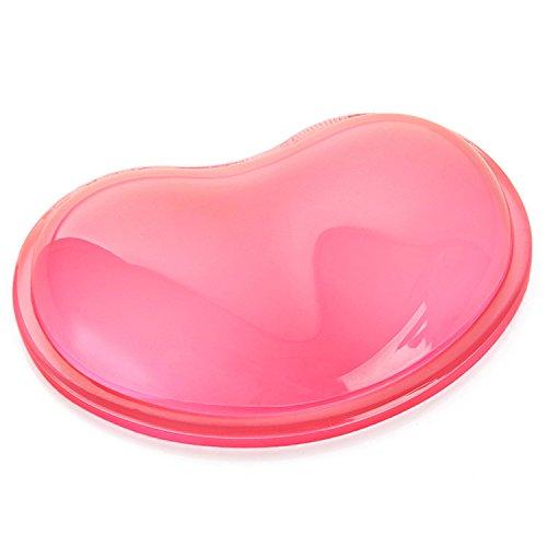 JINHONG Heart-shaped Translucence Silicone Wrist Rest Cool Hand Pillow Wrist Rest-Gel Mouse-Wrist Rest