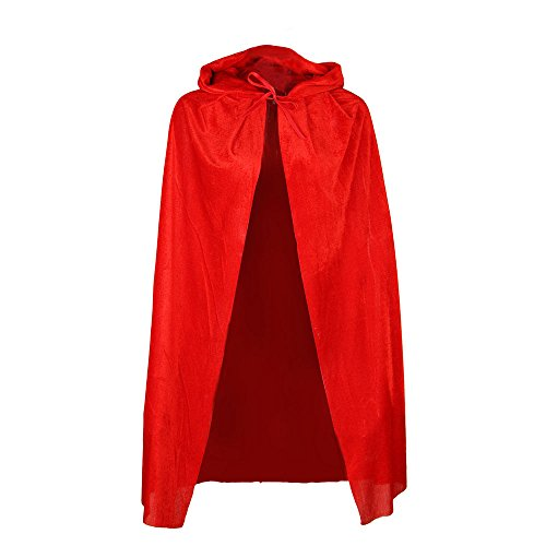 Little Red Riding Hood velluto CAPE