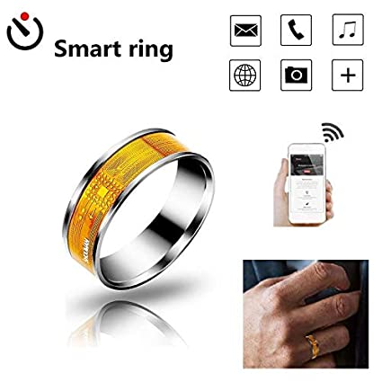 Amazon com: Aolvo NFC Smart Ring [2019 Newest Design