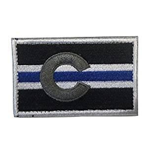 Amazon.com  Colorado Police Law Enforcement State Flag Morale ... da2e0bf33023