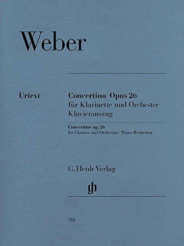 (Weber: Concertino in E-flat Major, Op.)