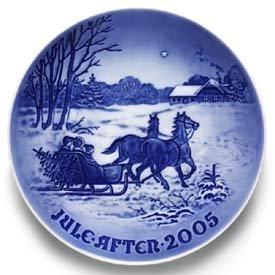 2005 Christmas Plate - Royal Copenhagen Bing & Grondahl 2005 Christmas Plate (1902205)