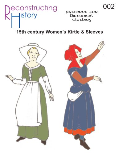 Amazon 40th Century Women's Kirtle Sleeves Pattern Delectable Women's Clothing Patterns