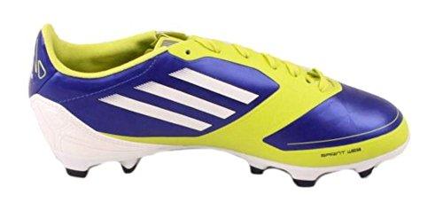 huge discount e49db 96db8 Adidas Adizero F30 Trx Fg W Chaussures De Football Bleu   Blanc   Jaune  Pour Femme ...