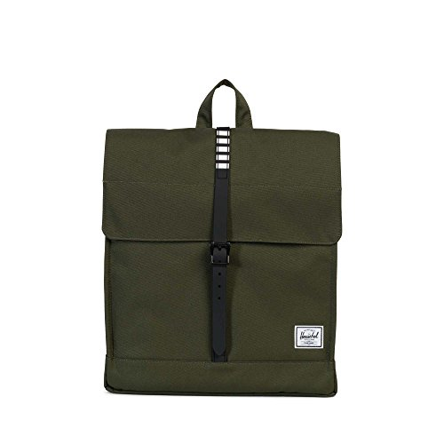 Herschel Supply Co. City Mid-Volume, Forest Night/Black Rubber/White Inset