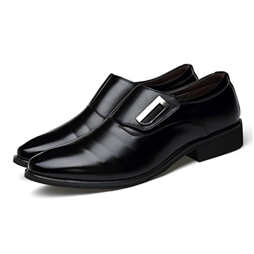 Seakee-Mens-Business-Slip-on-Dress-Shoes-Semi-formal-Oxford