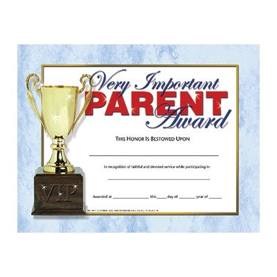 VERY IMPORTANT PARENT AWARD 30-SET FLIPSIDE H-VA641