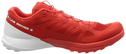 Trail da Lab White Scarpe Running 6 Red s Salomon Sense Racing Ywaxq4BT