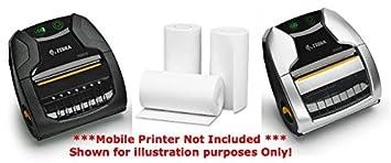 Zebra ZQ320 Direct Thermal Paper Rolls 1 20 Roll Box
