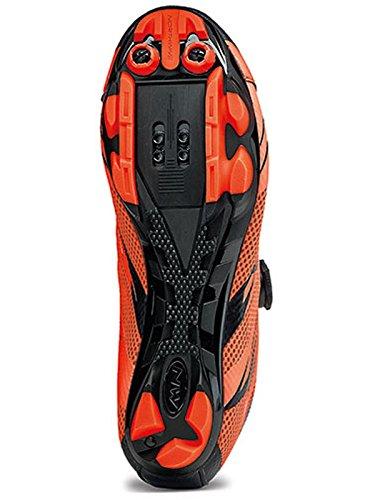 Zapatos NW Scorpius 2 Plus ORG/BLK - 45