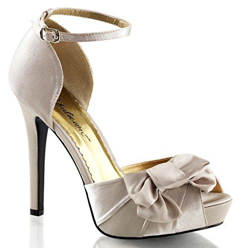 Heels-Perfect - Sandalias de vestir de Material Sintético para mujer Beige - Beige (Champagner)