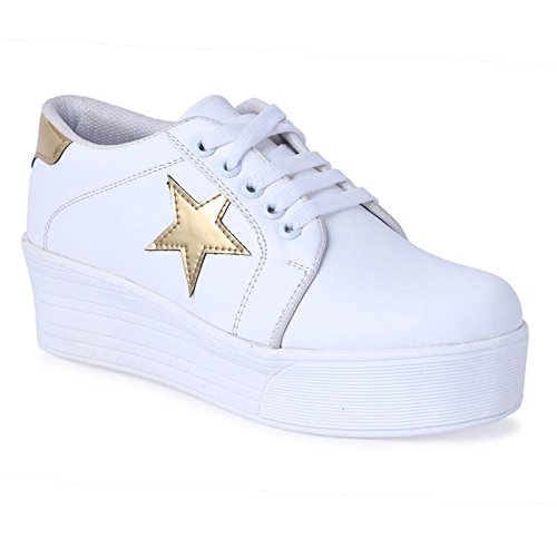 ZAP N GRAB Girls Casual Shoes White