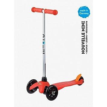 Patinete Mini Micro Sporty, rojo: Amazon.es: Deportes y aire ...