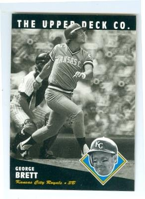 George Brett baseball card (Kansas City Royals Hall of Fame) 1994 Upper Deck #20