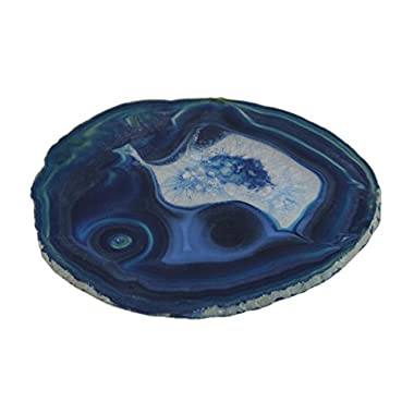 Polished Brazilian Agate Slice Trivet