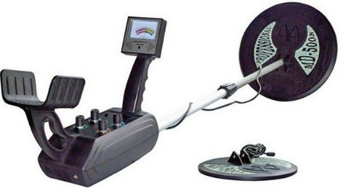 Gowe Underground Search Metal Detector, Max Detection Depth3.5m, Two Coils Included
