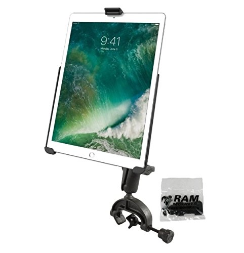 Ipad Clamp Composite - RAM Yoke Clamp Aircraft Airplane Mount Holder Kit for Apple iPad Pro 10.5