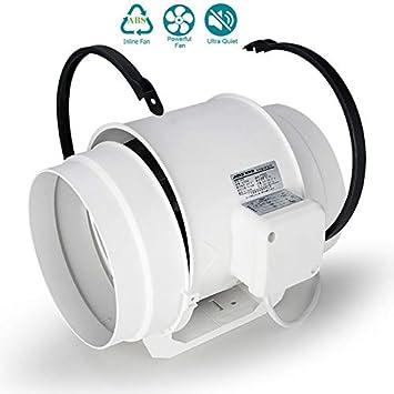 EtexFan Ventilador Extractor de Aire en Línea 200mm con Motor de ...
