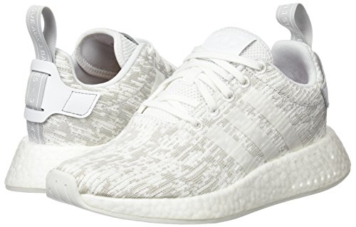 footwear r2 Sport White Femme Chaussures Nmd footwear White Blanc De Adidas Two W grey 854Tw6q