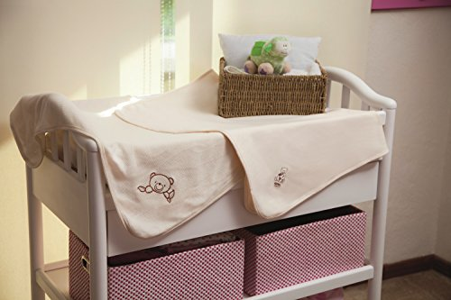 Baby Mink 100% Certified Organic Cotton Swaddle Receiving Blankets - Set Of 2