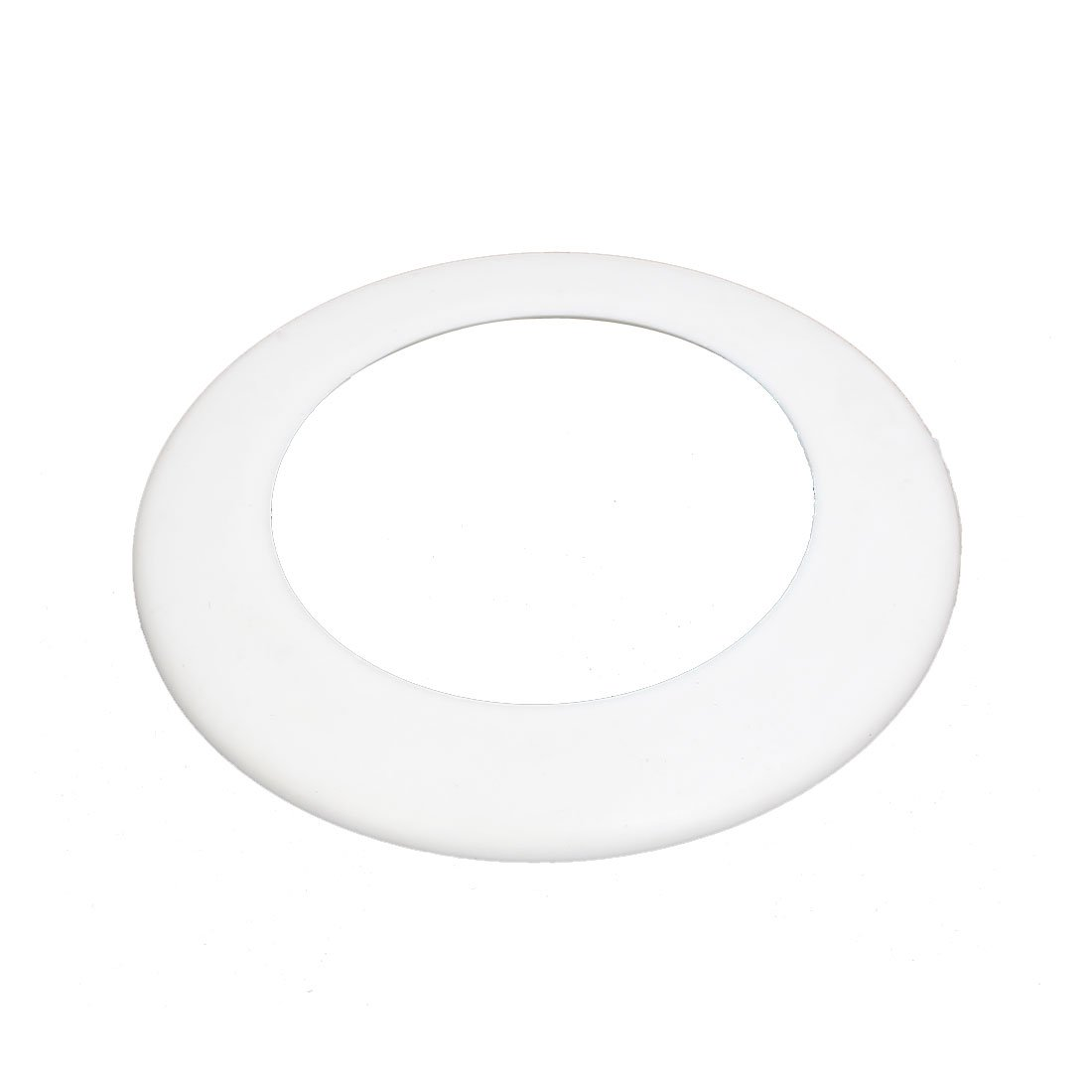 uxcell PVC Wall Flange Water Pipe Collar Cover Cap White for 63mm Drainpipe