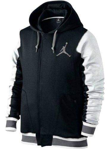 275733aa030bed Купить Jordan The Varsity Hoodie 2.0 Men s Black White Cement Gr в ...
