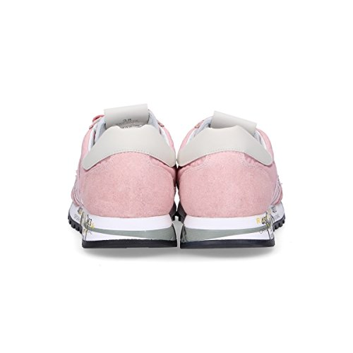 Premiata Vrouwen Sky3110 Roze Suède Sneakers