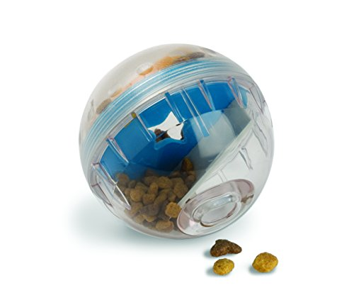 Pet Zone IQ Treat Ball, 4-Inch - Treat Dispensing Chew Toy