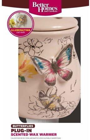Wax Warmer Butterfly Design Uses One 15W Lightbulb