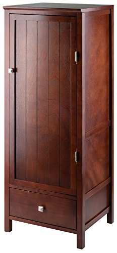 - Winsome Wood 94402 Brooke Storage/Organization, Antique Walnut