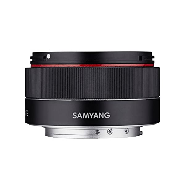RetinaPix Samyang SYIO35AF-E 35mm f/2.8 Ultra Compact Wide Angle Lens for Sony E Mount Full Frame, Black
