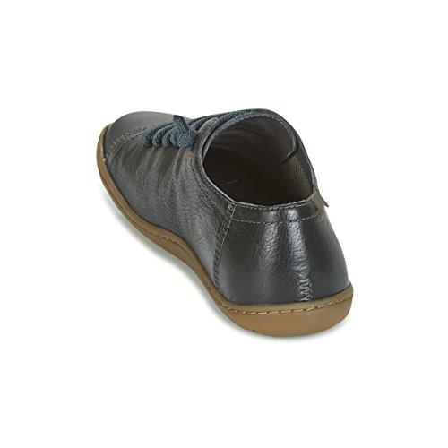 Camper cordones Camper lona Negro mujer 20848 de 049 20848 049 Zapatos de para rTpnTa