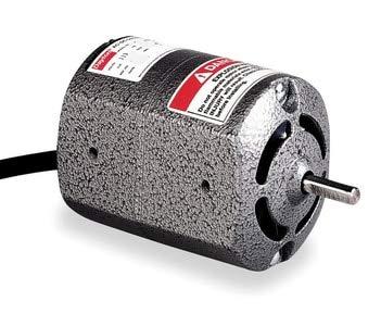 (Dayton 2M033 Universal AC/DC Motor, 1/15 hp, 5000 RPM,)