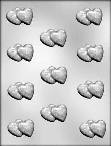 CK Products Double Hearts Chocolate Mold
