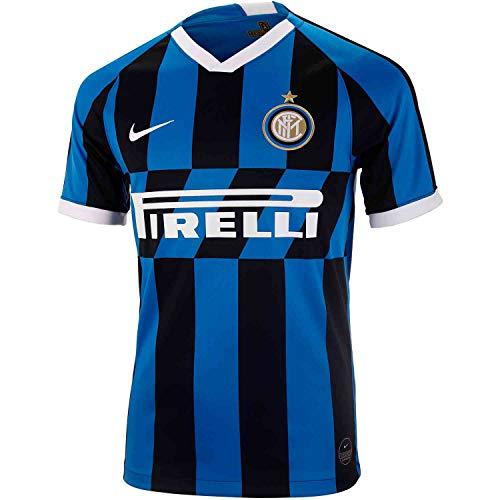 Nike 2019-2020 Inter Milan Stadium Home Jersey (Blue Spark) (M) (Nike Milan Inter Club)