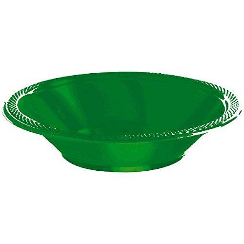 Amscan 43034.03 Plastic Bowls, 12oz, Festive -